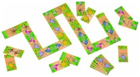 Simba My Friends Tigger and Pooh Domino (28 Pieces) (Multi Color)