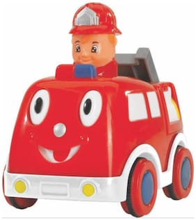 Simba Red ABC Press And Go Car (RED)
