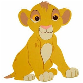 Simba Shaped Wall Hanging by Disney Baby *DISCONTINUED*