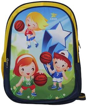 Sirius Baby Bag V4 Blue &Yellow Kids School Bag Backpack Multi Color School Bag
