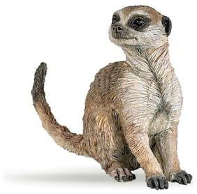 SITTING MEERKAT Replica #50207 ~ New for 2016 FREE SHIP/USA w/ $25.+ Papo Items