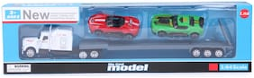 Skee Car Set Die Cast Metal Collection of Toy Cars for Children Multi Color Pack of 3