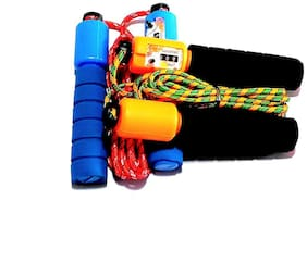 Skipping Rope with Counter, Combo Pack, Color As per Availability