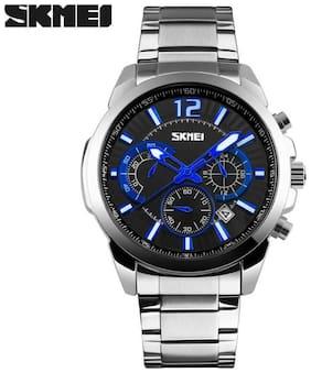 Skmei Original 9108 Silver Black Watch