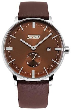 Skmei Original 9083 Brown Watch