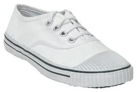Ajanta White Boys Casual shoes