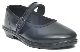 Ajanta Black Girls School shoes