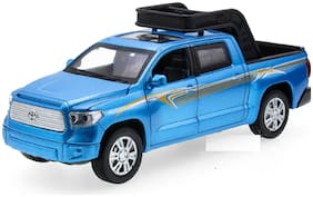 SKS SUV Die-Cast 4 Wheel Drive Metal Car Pull Back with 4 Openable Doors  Engine Cover  Tail with Front and Rear Light & Music