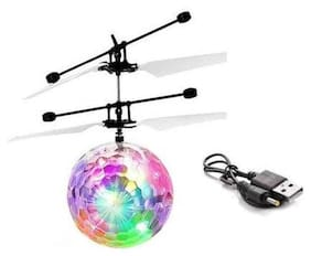 Sky Ball, Flying Ball Toy, Helicopter Toy With Motion Sensor & Colorful Light  (Multicolor).