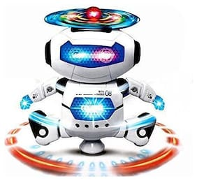 Skylare Electronic Smart Space Walking Dancing Robot With Music Light