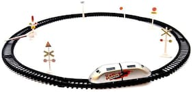 Skylare High Speed Bullet Train With Track & Signal Accessories For Kids