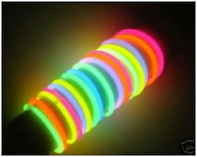 Skylofts Light up Toys 50pcs Glow Sticks Mixed Colors Party Favors Supplies for Kids Birthdays (Glow Bracelets)