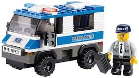Sluban Police Van Toy M38-B0273