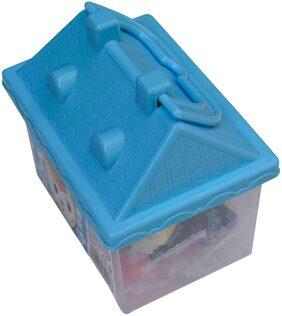 Small Hut Shape Colofrull Clay For Kids Multicolor