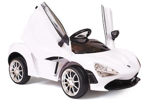Smart Ride On Car - White