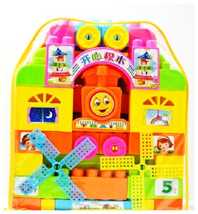 Smartcraft Colorful and Attractive Funny Cottage Educational Toy, Learning House block set