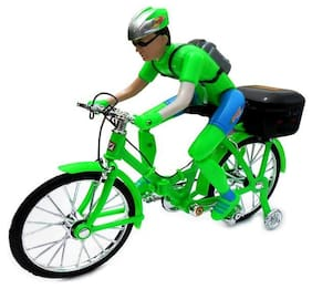 Smartkshop Ben 10 Battery Operated Folded Bicycle Toy