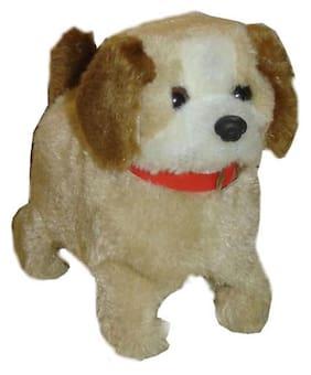 Smartkshop Fantastic Puppy Battery Operated Jumping Dog Run Jump Toy