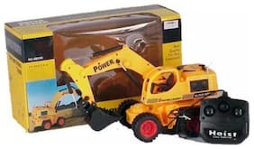 Smartkshop Wire Remote Control Jcb Construction Loader Excavator Truck Toy