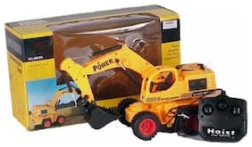 Smartkshop Wire Remote Control Jcb Construction Loader Excavator Truck Toy