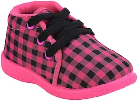 SMARTOTS Pink Casual Shoes For Infants