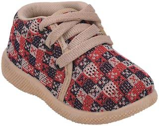 SMARTOTS Beige Casual Shoes For Infants