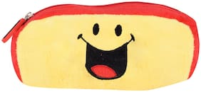 SmileyWorld Crazy Laughing Smiley Pencil Pouch Yellow by Ultra