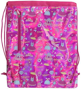 Smily Kiddos Drawstring Bag-Paradise (Pink) Boost Bag for Kids Boys and Girls Best Return Gifts for Kids Boys and Girls Stylish Backpacks for Boys Girls and Kids