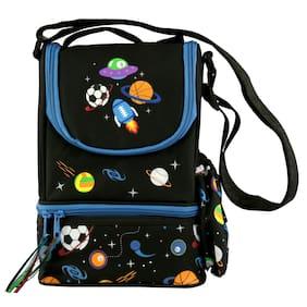 Smily kiddos | Smily Strap Lunch Bag(black)