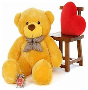 ZOONIO Yellow Teddy Bear - 80 cm , 1