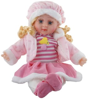 Soft Girl Singing Songs Princess Good Looking Musical Baby Doll Toy