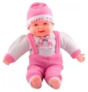 Kanchan Toys Soft Laughing Baby Toy