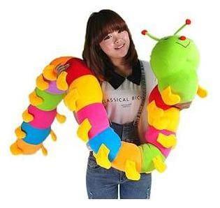 Soft Multicolor Caterpillar 150 Cm
