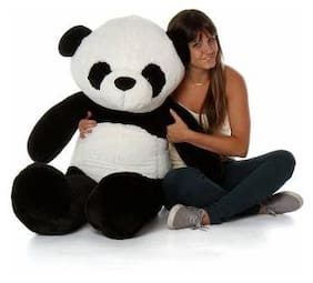 CROCOZILE Black & White Teddy Bear - 60 cm