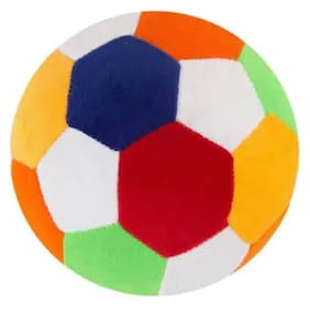 Soft toy football  for kids (Multicolour), 1PC