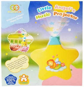 Softa Little Angel Battery Operated Baby Sleep Musical Infant Angel's Star Projector for Babies