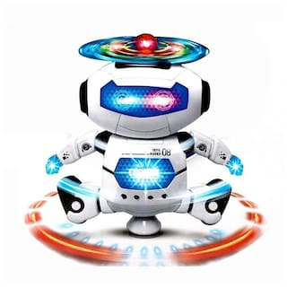 Softa Musical And Naugty Dancing Robot - 3D Lights And Very Attractive Musical Robot For Kids