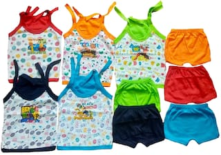 Sonpra Baby boy & Baby girl Top & bottom set & Gift set - Multi