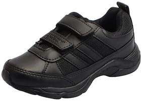 Sparx Black Boys School Shoes