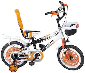 Speed bird cycle industries Kid's 14-T NEXTRA with Back Carrier Kid Bicycle