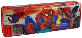 Spero Pencil Box with Dual Sharpener Pencil Case Pencil Pouch Birthday Gift for Kids