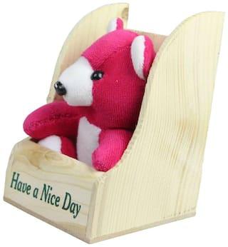 SPERO Pink Teddy Bear - 16 cm