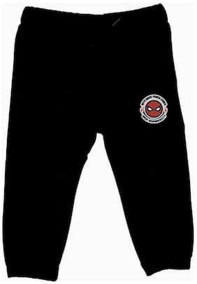 Spider-Man Boy Cotton Track pants - Black