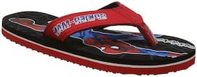 Spiderman Red Unisex Kids Slippers
