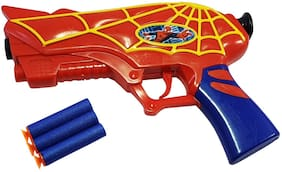 Spiderman Gun with soft Bullets