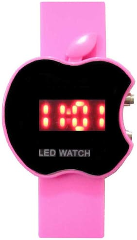 Sport Led Apple Shape Kids Watch
