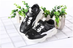Enso Black Sport Shoes For Girls