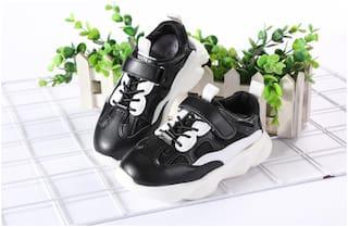 Enso Black Girls Sport Shoes