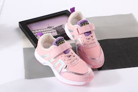 Enso Pink Girls Sport Shoes