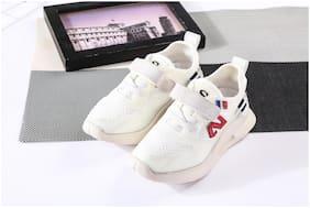 Enso White Girls Sport Shoes